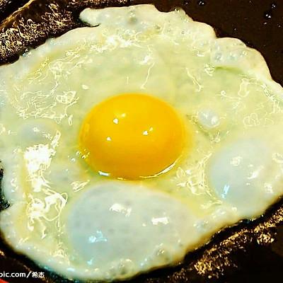 菠菜煎蛋面的做法 步骤1