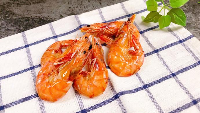 【新品】健康低脂小零食烤虾干