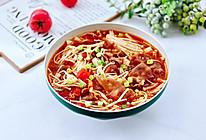 #下饭红烧菜#番茄金针菇肥牛汤的做法