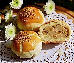 酥皮榨菜鲜肉月饼的做法