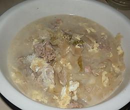 酸菜排骨汤的做法
