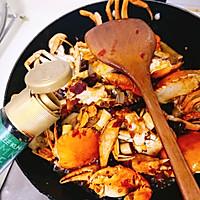 香辣螃蟹的做法图解16