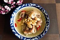 黄豆白芸豆猪蹄汤的做法