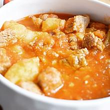 最爱的西红柿土豆炖牛腩 嘻嘻
