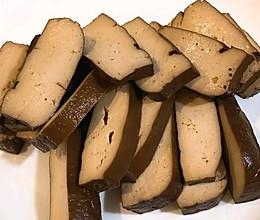 纯素无油卤豆干的做法