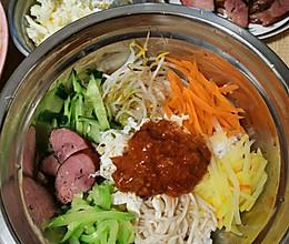 别在用雪碧兑辣酱了,韩国拌饭,石锅拌饭的做法