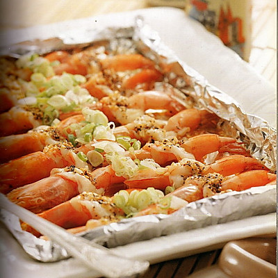 烤箱料理_黑椒奶油蝦