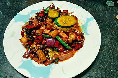 干锅五花肉