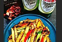 #夏日开胃餐#黑椒土豆的做法