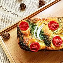 法式咸蛋糕—三文鱼芝士蛋糕