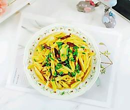 家常菜~清炒竹笋的做法