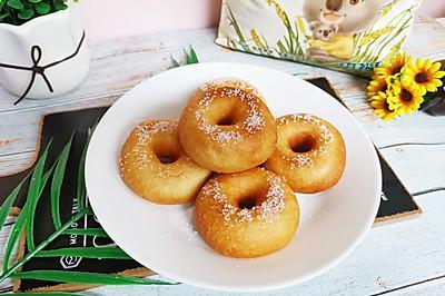 免烤箱松软可口的甜甜圈