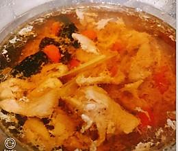 中药黑枣蒸汤的做法