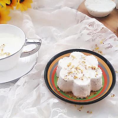 白糖桂花松糕
