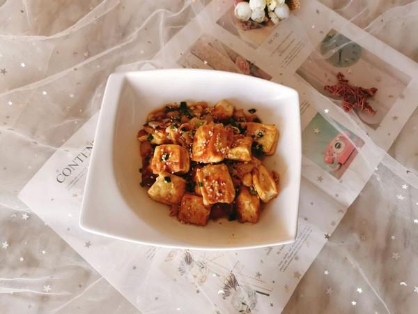 家常瑶柱焖豆腐的做法