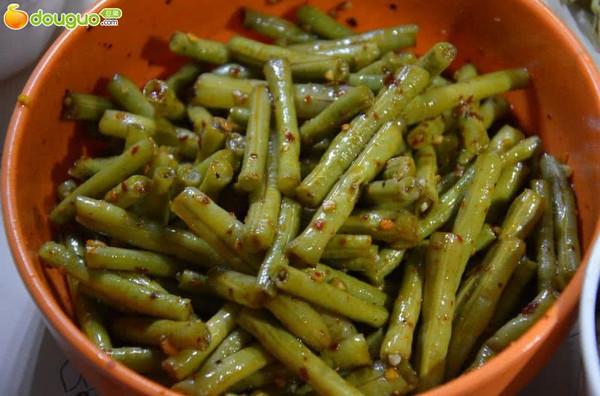 懒人必备----川味麻辣豇豆的做法