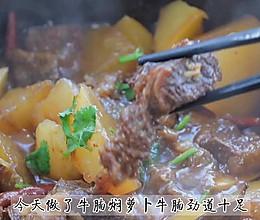 #下饭红烧菜#牛腩闷萝卜的做法