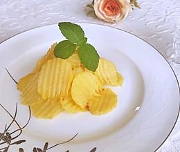 #夏日消暑,非它莫属#飘香蜂蜜黄油薯片的做法