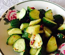 【清真】香辣脆黄瓜的做法