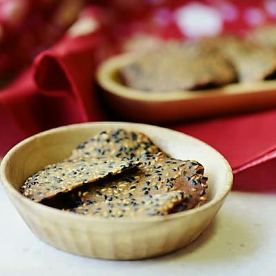 芝麻薄脆瓦片酥——消耗剩余蛋白