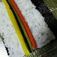 基础卷寿司(含寿司醋),反卷,握寿司,军舰寿司的做法图解12