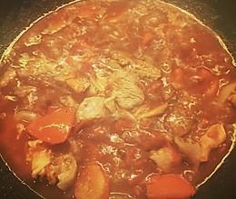 番茄红酒炖牛腩的做法