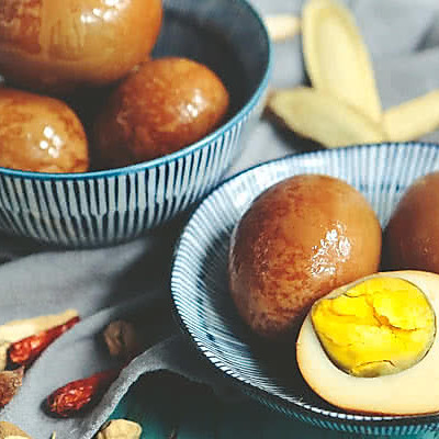 来一颗五香卤蛋,品味淡淡的幸福