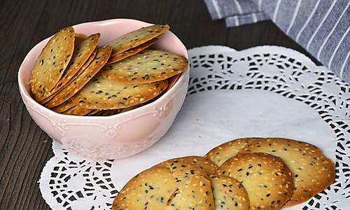 【超健康简易的芝麻香脆饼】——COUSS CO-8501出品的做法