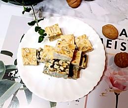 #新年自制伴手礼,红红火火一整年!#雪花酥(原味、抹茶味)的做法