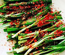 微波炉烤韭菜的做法