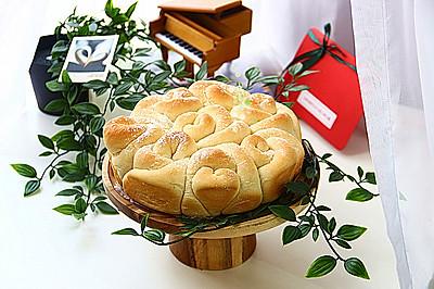玫瑰花造型面包