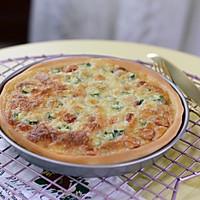 秋葵肉肠披萨