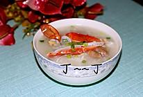 生滚花蟹粥的做法