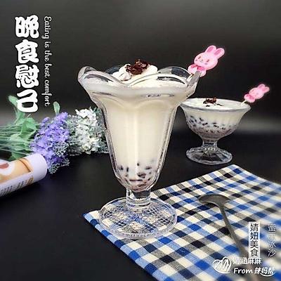 蜜豆冰沙~清凉爽口