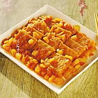 #花10分钟,做一道菜!#香煎冻豆腐的做法图解11