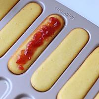 手指蛋糕(草莓酱夹心)的做法图解10
