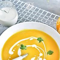 营养不流失,极简版奶油南瓜浓汤的做法图解5
