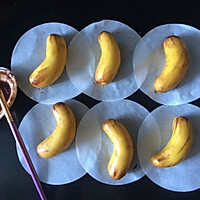 #花10分钟,做一道菜!#香蕉卡通包♥22克萌系香蕉家族♥的做法图解4