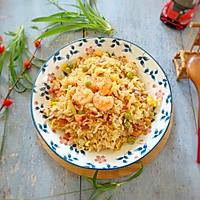 剩米饭的华丽蜕变—虾仁炒米饭的做法图解13