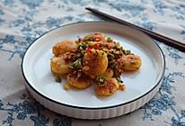 #我们约饭吧#香辣干煎小土豆的做法
