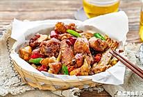 干煸鸡|皮酥肉嫩的做法