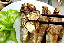 香煎多春鱼的做法