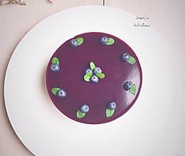 蓝莓巧克力乳酪慕斯—夏天的蛋糕的做法