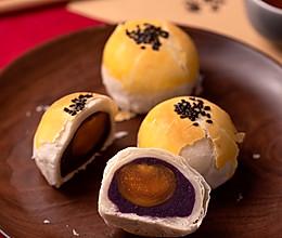 中式酥皮点心,蛋黄酥的做法