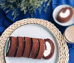 可可蛋糕卷的做法