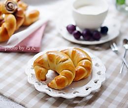 豆沙牛角面包的做法