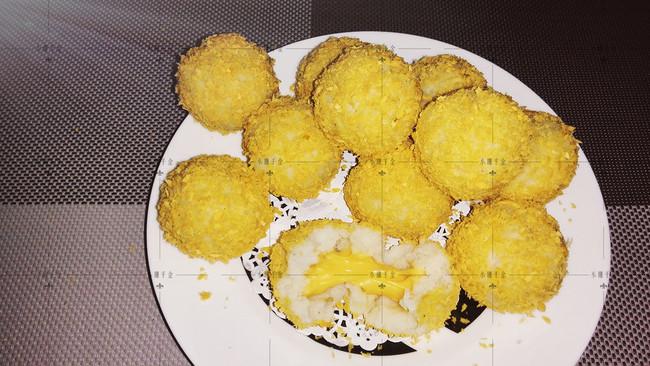 爆浆土豆芝士球 {非油炸}的做法