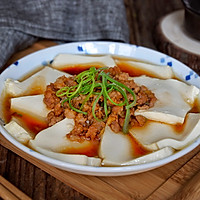 肉末蒸豆腐的做法图解13