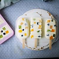 不打蛋没冰渣的酸奶水果冰激淋的做法图解9