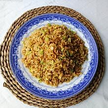 三鲜酱油炒饭(颗粒分明)